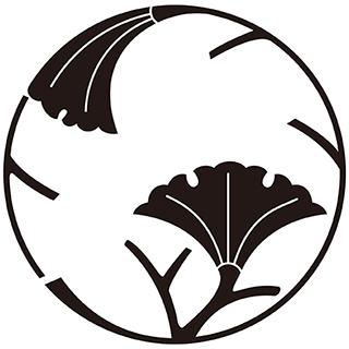 銀杏枝丸紋